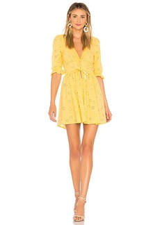 For Love & Lemons Spring Eyelet Swing Dress