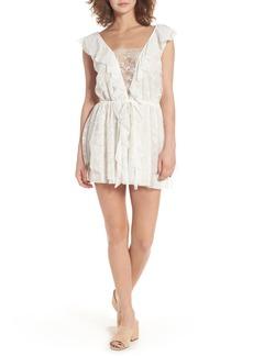For Love & Lemons Stardust Lace Minidress