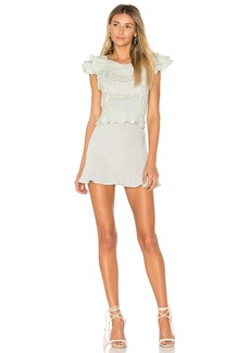 For Love & Lemons Starry Eyed Mini Dress