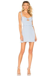 For Love & Lemons Sweetheart Mini Dress