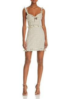 For Love & Lemons Sweetheart Mini Dress