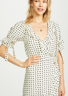 For Love & Lemons Sweetheart Wrap Dress