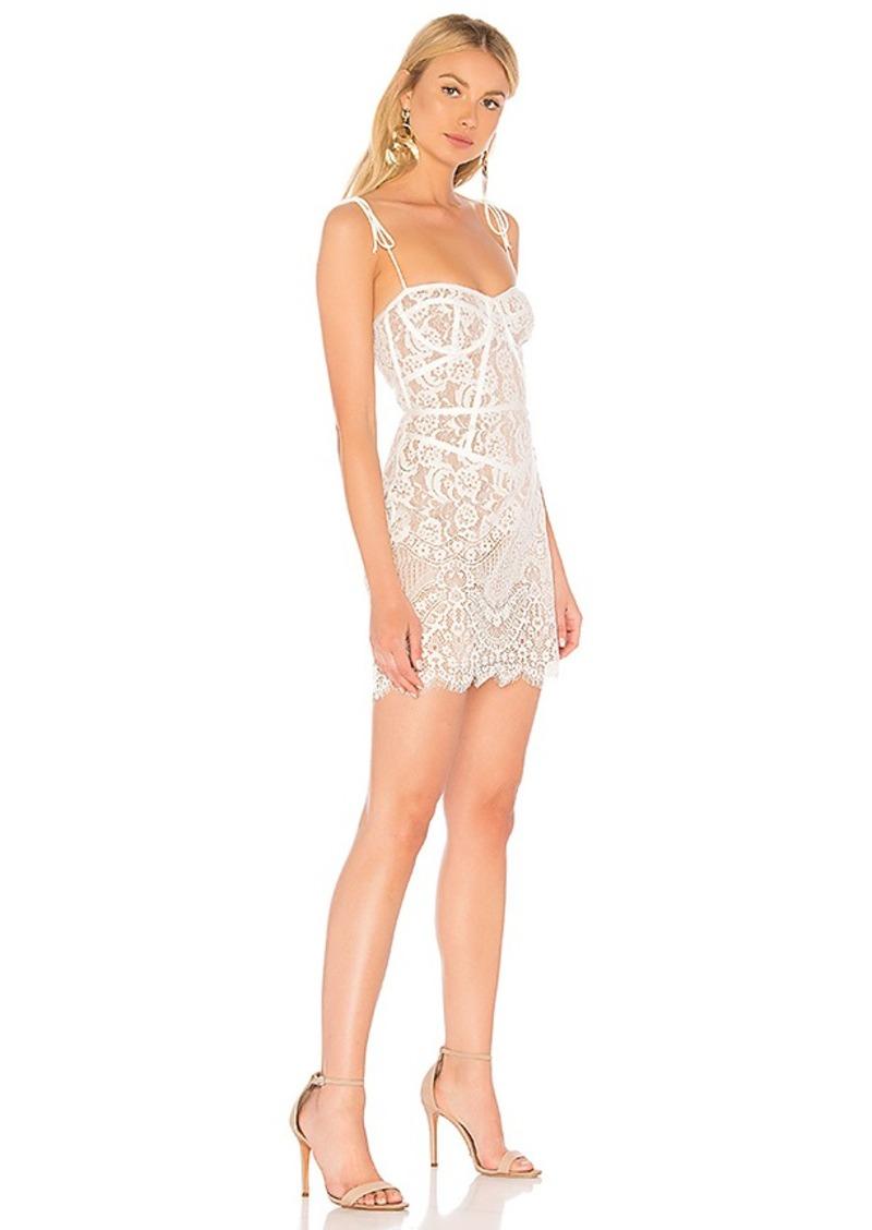 For Love Lemons For Love Lemons Tati Lace Corset Dress Dresses