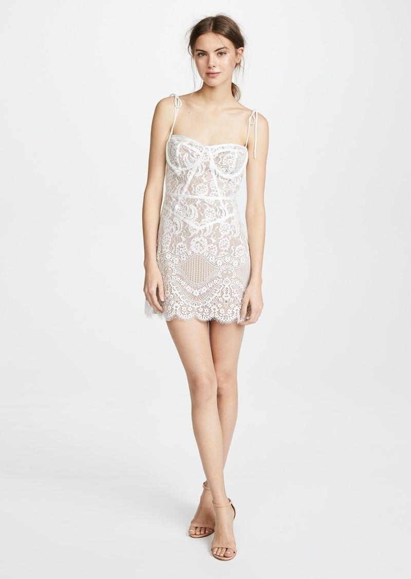 For Love Amp Lemons For Love Amp Lemons Tati Lace Corset Dress