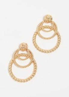 For Love & Lemons Triple Hoop Earrings