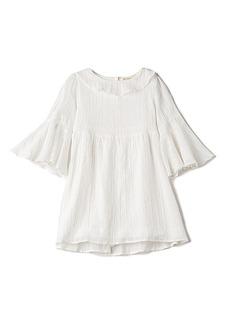 For Love & Lemons Twinkle Twinkle Lurex Dress in White. - size 2T (also in 3T,4T,6)