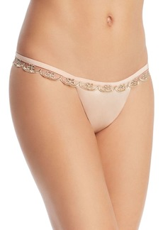 For Love & Lemons Vanessa Scalloped Thong