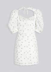 For Love & Lemons Wild Cherry Mini Dress