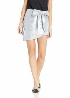 For Love & Lemons Women's Black Jack Mini Skirt