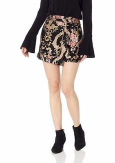 For Love & Lemons Women's Brocade Tapestry Skirt