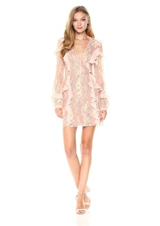 For Love & Lemons Women's Bumble Long Sleeve Dress  XS