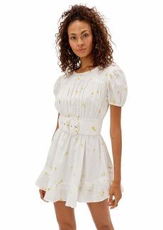 For Love & Lemons Women's Daisy dot Mini Dress