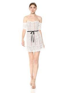 For Love & Lemons Women's Dakota Lace Mini Dress  S