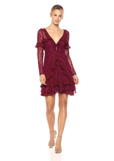For Love & Lemons Women's Daphne Lace Mini Dress  S