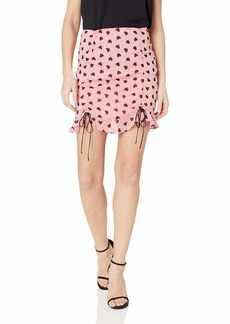 For Love & Lemons Women's Dominique Mini Skirt