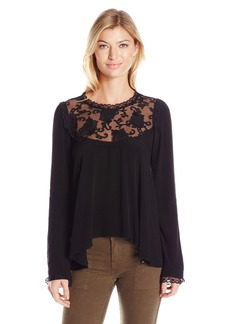 For Love & Lemons Women's Ellery Blouse  M