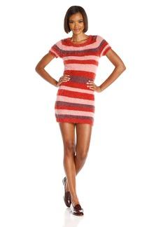 For Love & Lemons Women's Fleetwood Stripe Sweater Dress