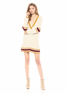 For Love & Lemons Women's Ivy League Sweater Dress