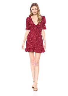 For Love & Lemons Women's La Tez Mini Dress  M