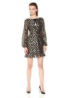 For Love & Lemons Women's Lottie Bell Sleeve Dress  L