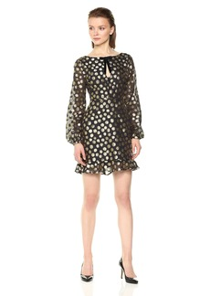 For Love & Lemons Women's Lottie Bell Sleeve Dress  XS