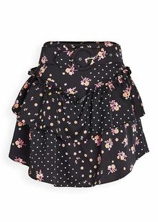 For Love & Lemons Women's Mini Skirt
