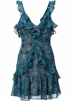 For Love & Lemons Women's Poppy Mini Dress  L