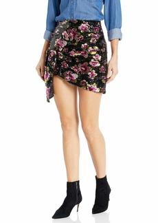 For Love & Lemons Women's San Junipero Sequin Skirt