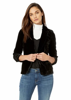 For Love & Lemons Women's Viva Velvet Blazer