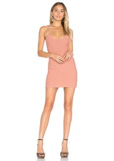 For Love & Lemons x KNITZ Simone Tank Mini Dress