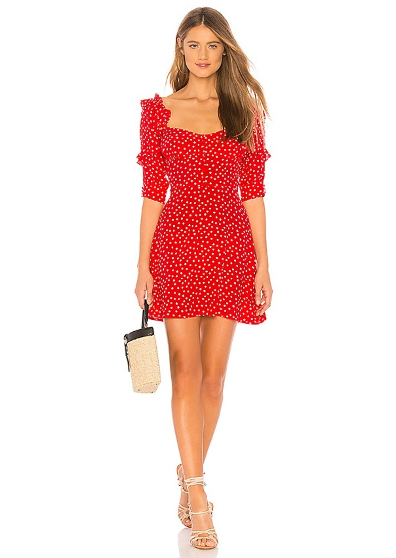 a5cdf9b18e90 For Love & Lemons For Love & Lemons X REVOLVE Buttoned Mini Dress ...
