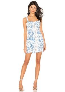 For Love & Lemons X REVOLVE Monika Hook Front Mini Dress