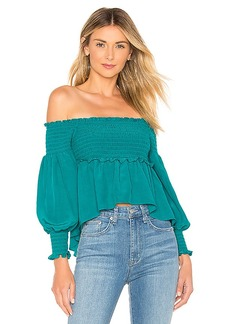 For Love & Lemons X REVOLVE Off The Shoulder Blouse