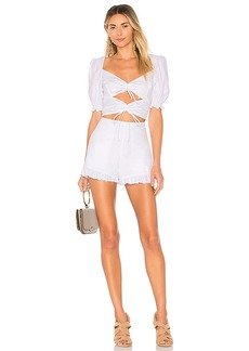 For Love & Lemons x REVOLVE Ruffled Romper