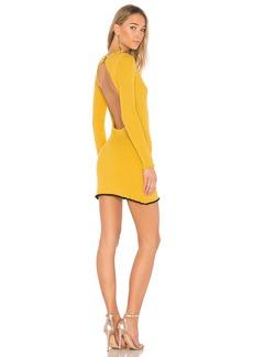 For Love & Lemons Ruffle Edge Mini Dress