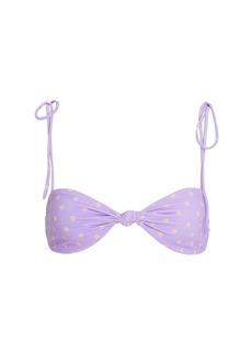 For Love & Lemons Seaside Twist Front Bikini Top
