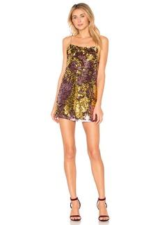 For Love & Lemons Sparklers Slip Dress