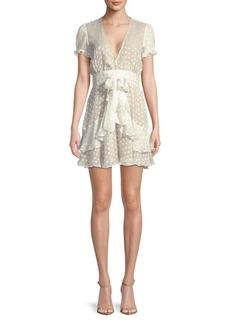 For Love & Lemons Tarta Star Mini Dress