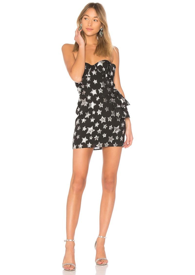 For Love & Lemons X REVOLVE Strapless Bow Dress in Star