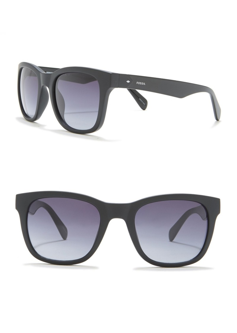 Fossil 52mm Square Sunglasses