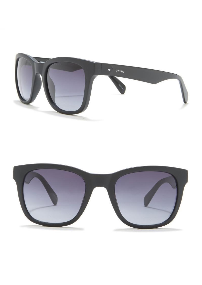 Fossil 52mm Square Sunglasses