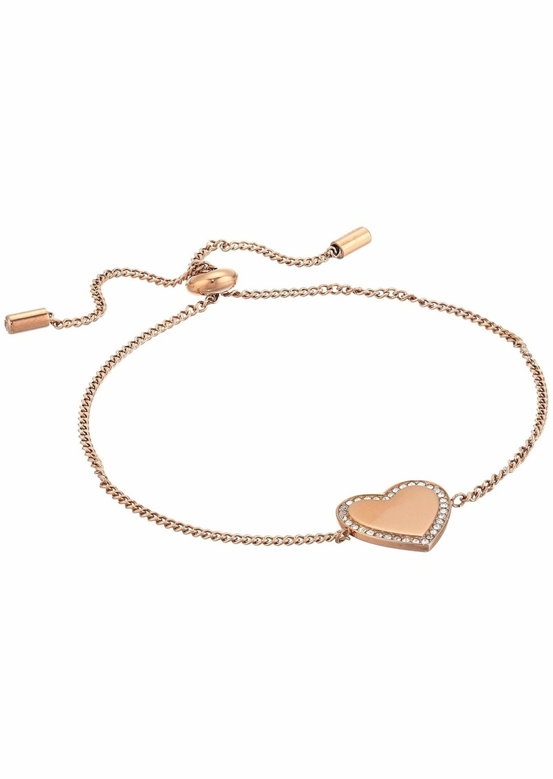 Fossil Be Mine Stainless Steel Chain Bracelet