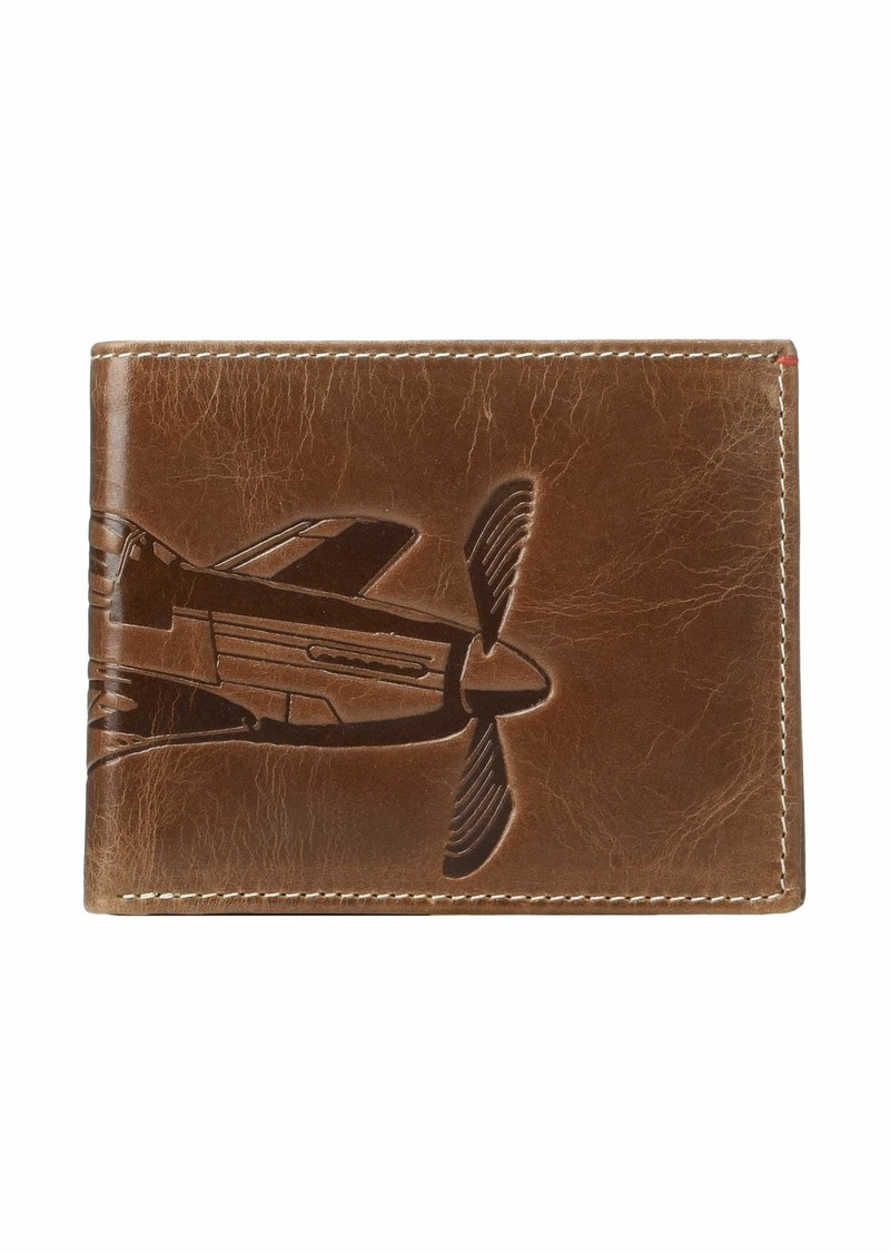 Fossil Danny Leather L-Zip Bifold Wallet