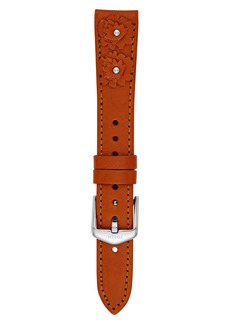 Fossil 16mm Leather Watch Strap