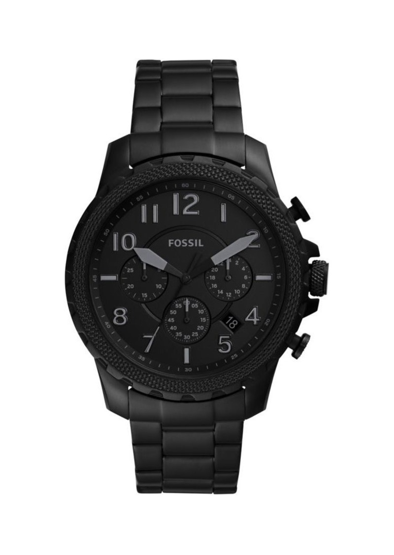 Fossil Bowman Stainless Steel Chronograph Watch