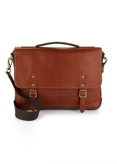 Fossil Classic Leather Satchel