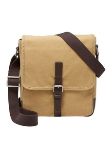 Fossil Davis Canvas Crossbody Bag