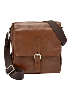 Fossil Davis Leather City Courier Crossbody Bag