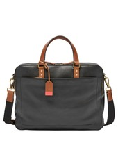 Fossil Defender Leather Briefcase