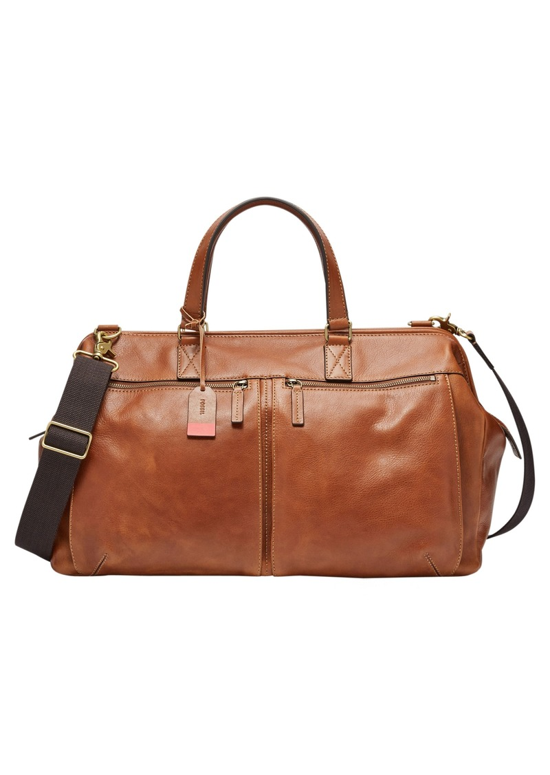 Fossil Defender Leather Duffel Bag